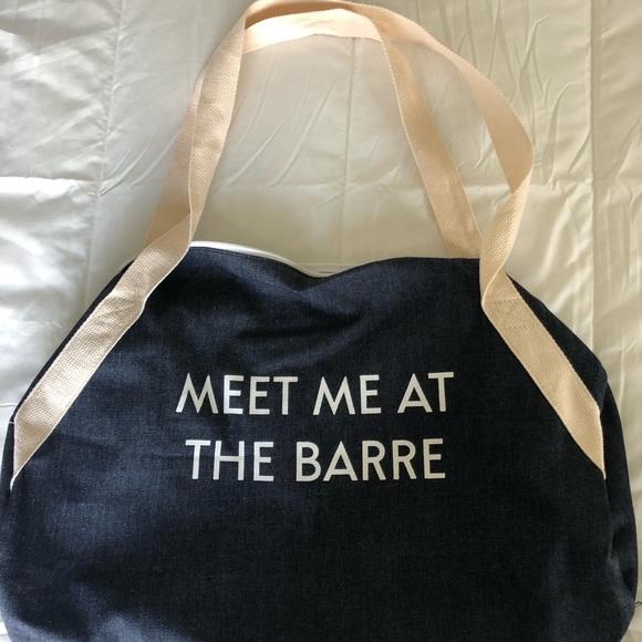 Handbags - Cotton Gym Bag
